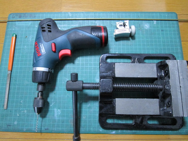 足カン作り 道具