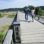 ギネス認定 世界一長い木造橋 島田 蓬莱橋