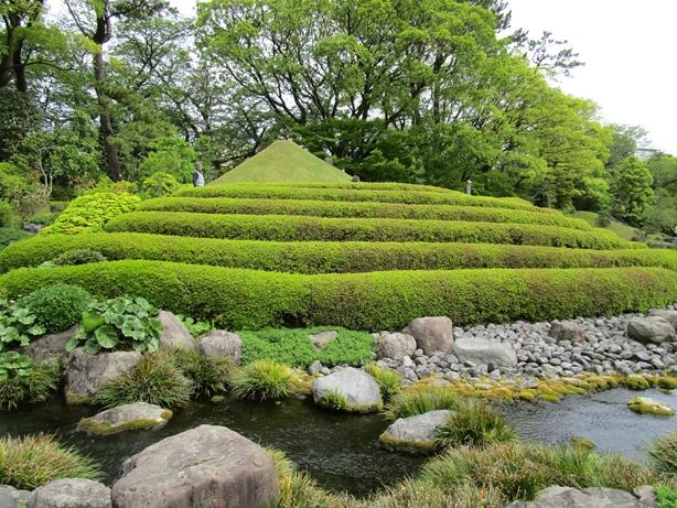 紅葉山庭園 築山