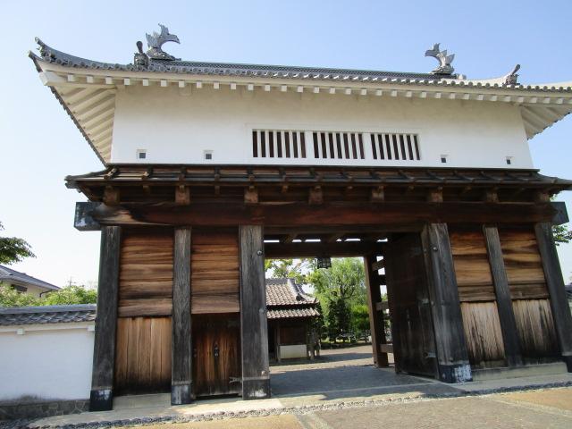 掛川城 大手門