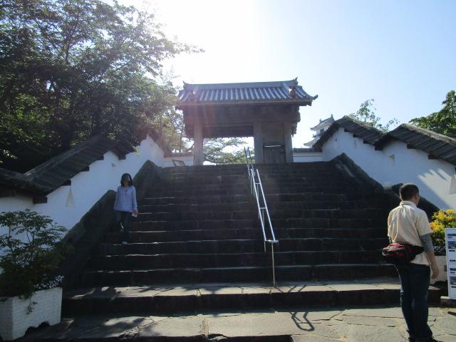 掛川城 四つ足門