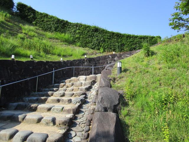 掛川城 階段01