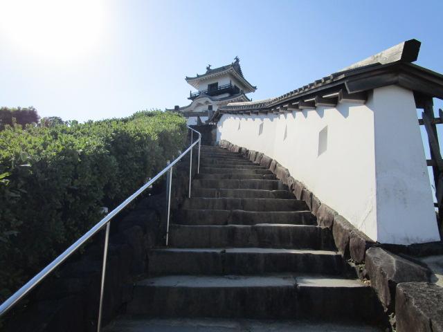掛川城 階段02