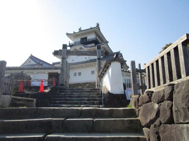 掛川城 階段03