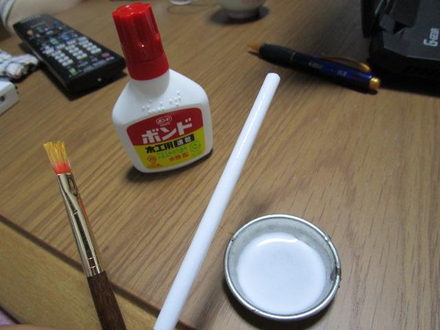 発泡素材 木工用ボンド 下塗り