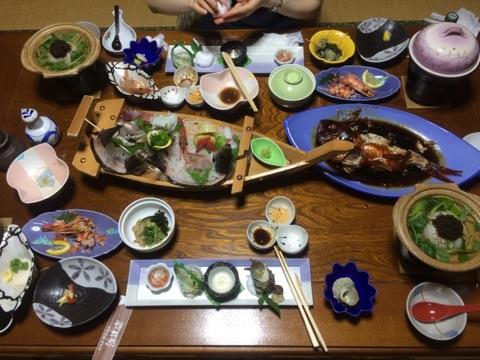 浜道楽 夕食