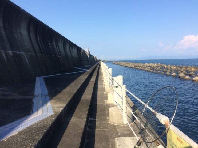 広野海岸公園 釣り風景02
