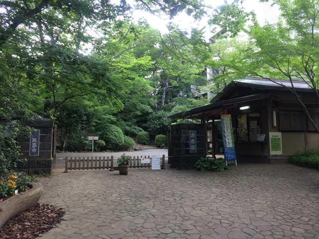 三島楽寿園 入口