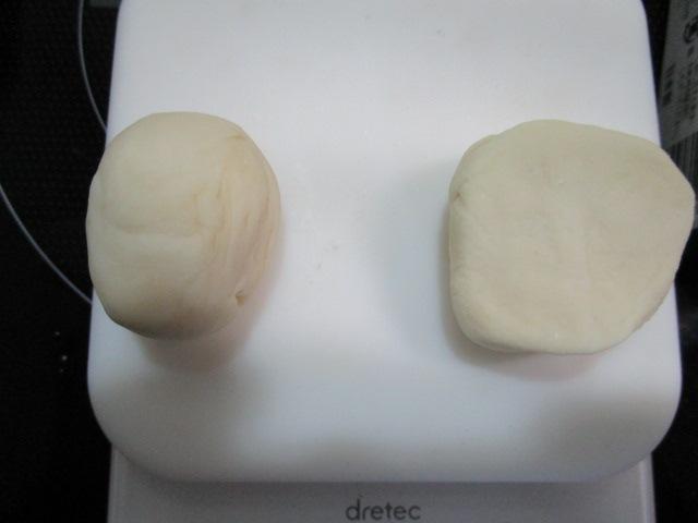 小麦粉ダンゴ