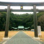 2019年1月12日静岡県 護國神社へ参拝に行ってきました